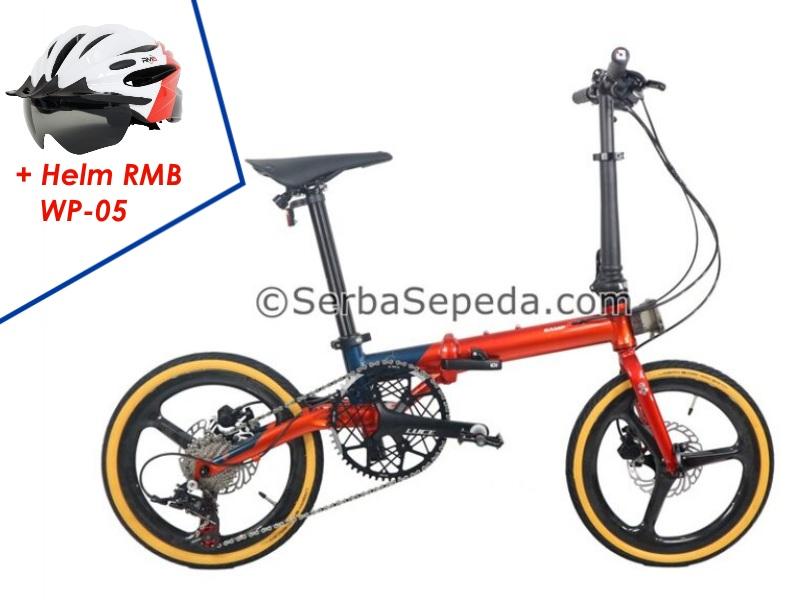 "Camp Hazy 11 Speed Velg Carbon (16"") + RMB Helm WP-05"