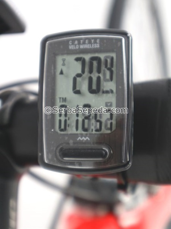 Cateye Speedometer Velo Wireless