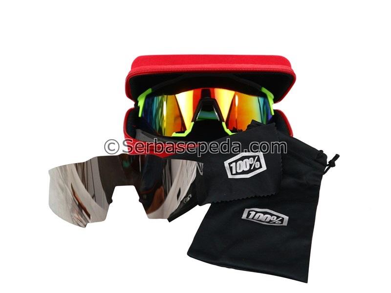 Kacamata Speedcraft 100%