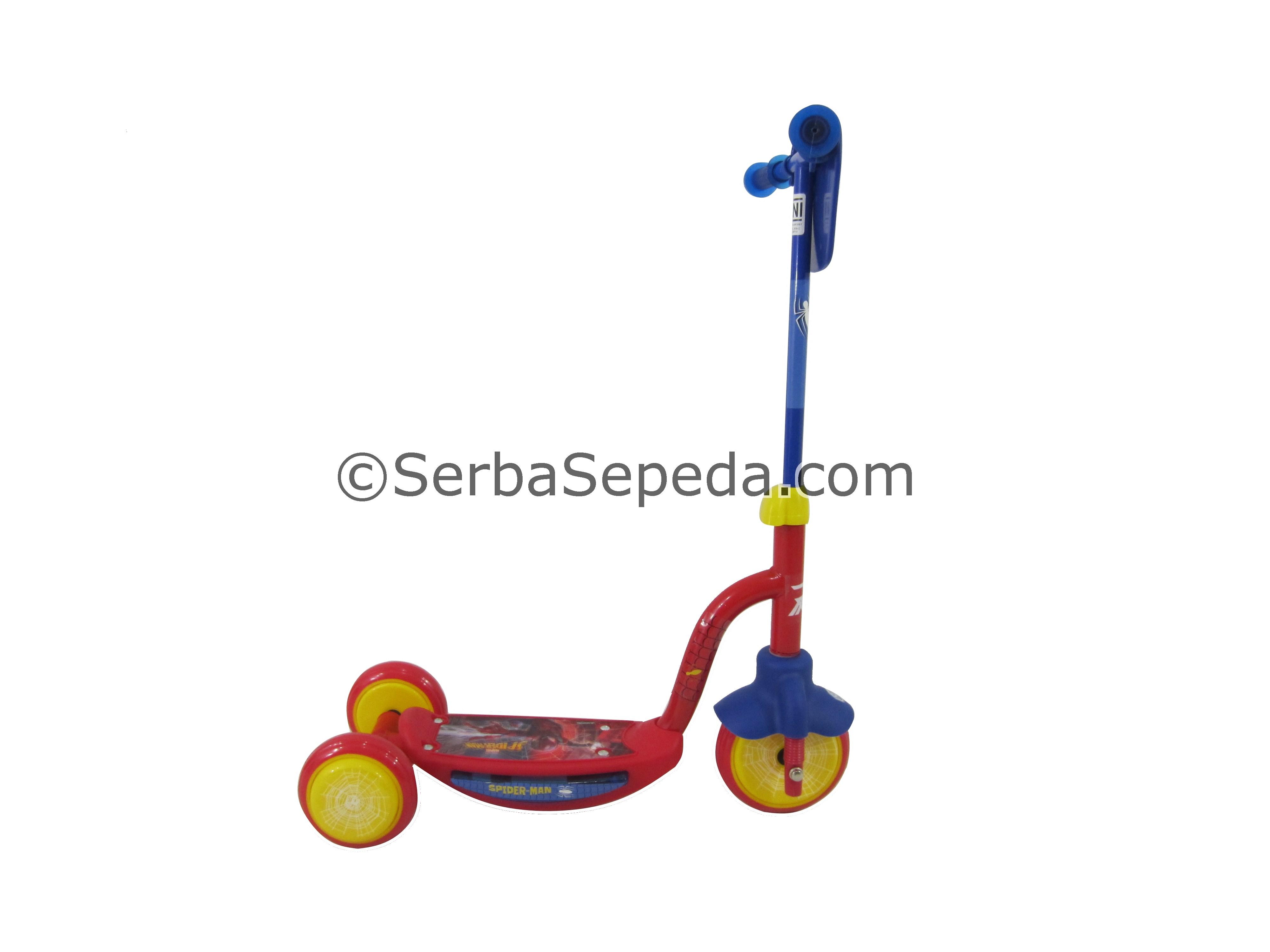 RMB Skuter Anak Spiderman 3 Roda