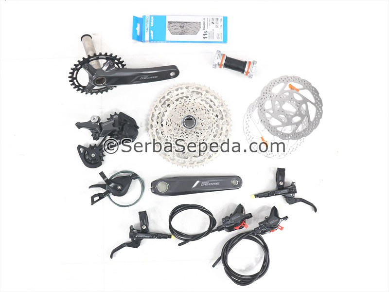 Shimano Groupset Deore M5100 32 x 170 11-51T