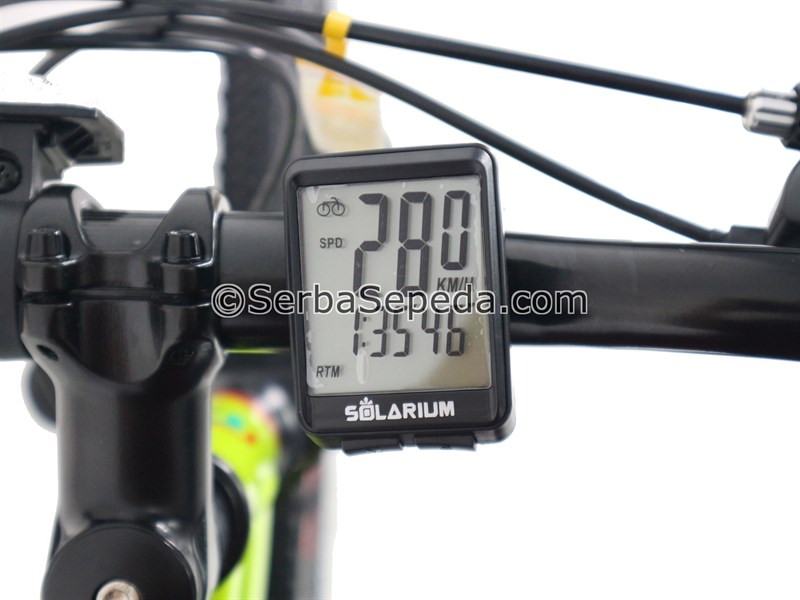 Solarium Speedometer Wireless