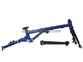 "Fnhon Frame Set Gust + handlepost Disc Brake (16"")"