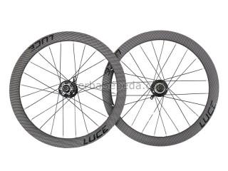 Luce Wheelset Disc Brake 451mm Carbon Look