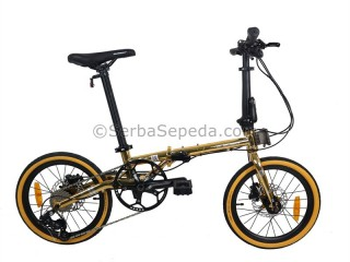 "Element Troy 10 Speed Chrome Edition Gold (16"")"