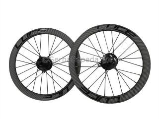 Luce Wheelset Disc Brake 349mm Carbon Look