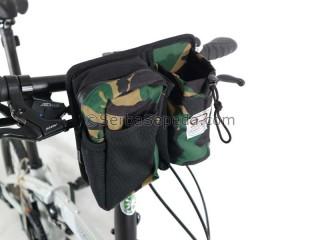 Great Cycle Tas Botol Premium Army