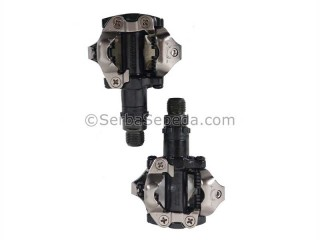 Shimano Pedal Sepeda Clipless M520